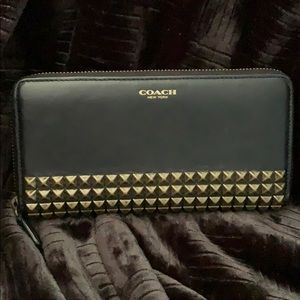 Studded Coach Wallet